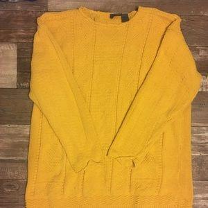 Vintage Yellow Liz Wear L Sweater